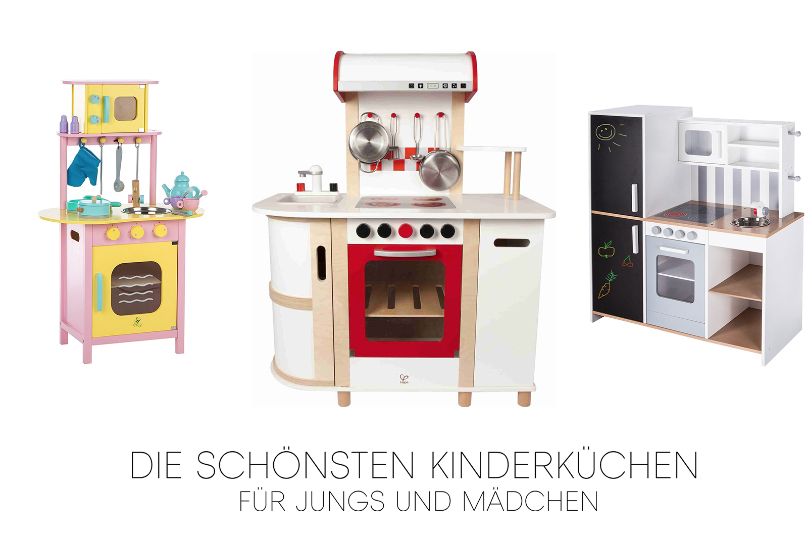die sch nsten kinderk chen f r m dchen und jungen. Black Bedroom Furniture Sets. Home Design Ideas