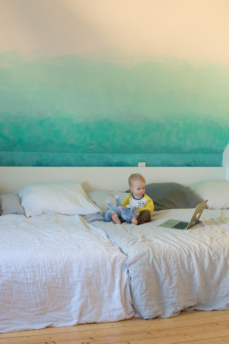 projekt gro es familienbett xxl mit ikea malm und emma matratze. Black Bedroom Furniture Sets. Home Design Ideas