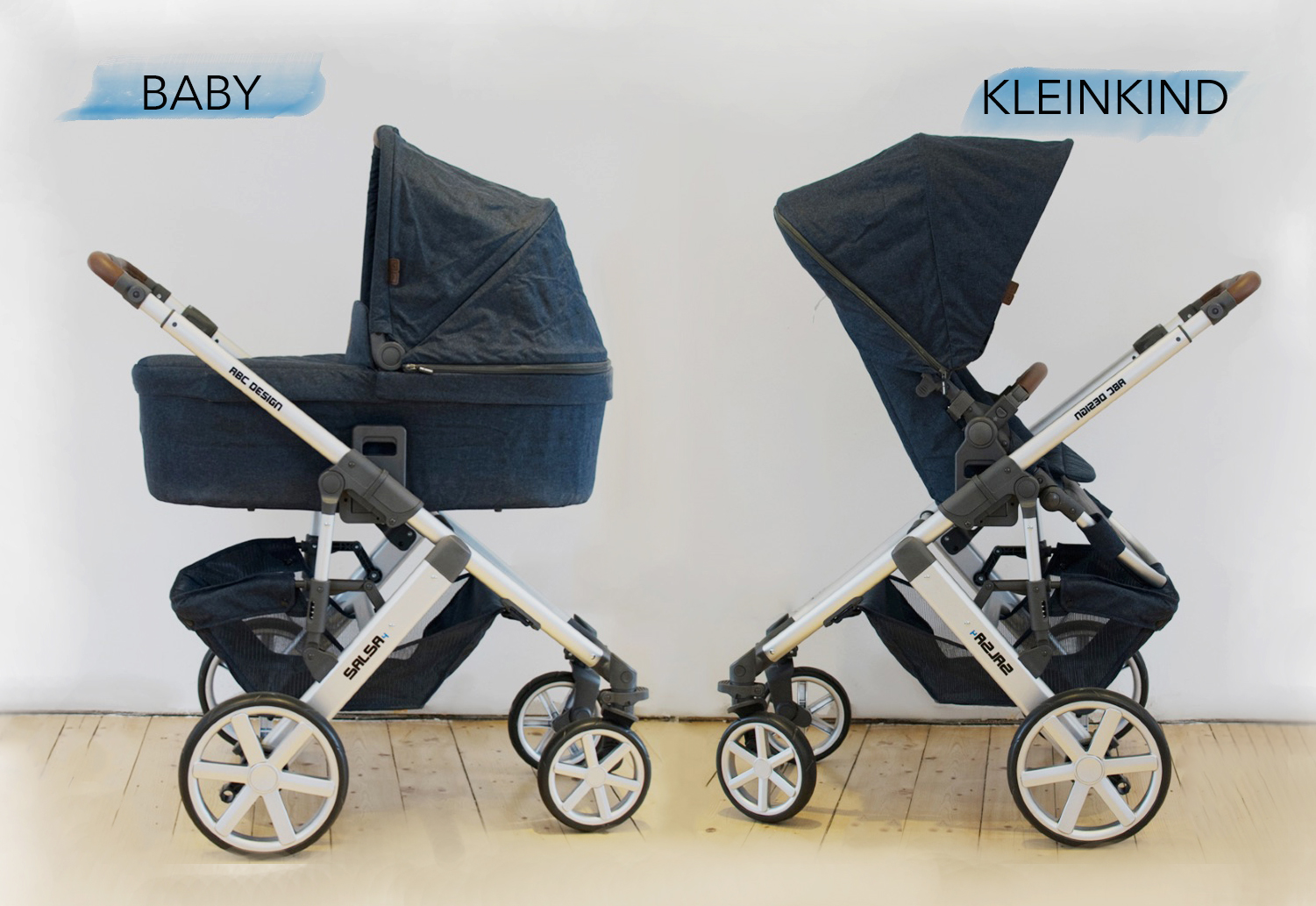 der abc design salsa 4 kombi kinderwagen im test. Black Bedroom Furniture Sets. Home Design Ideas