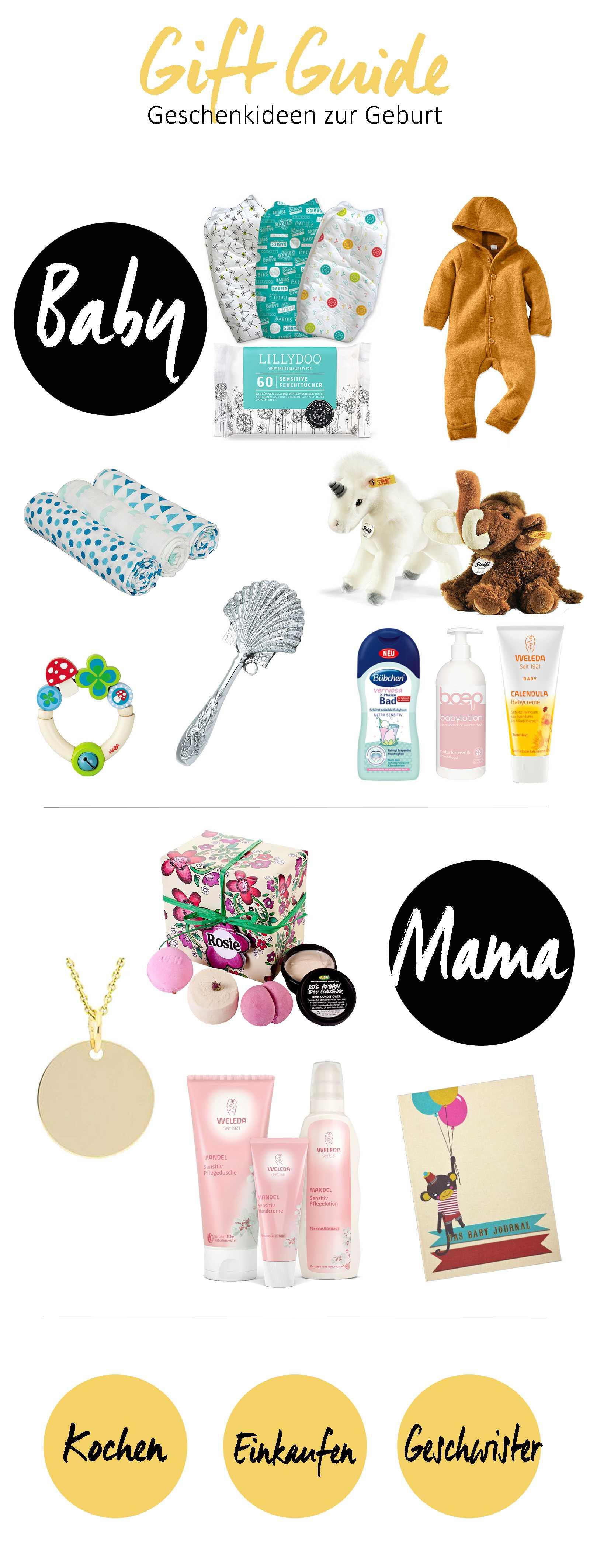 geschenke zur geburt geschenkideen f r mama und baby. Black Bedroom Furniture Sets. Home Design Ideas