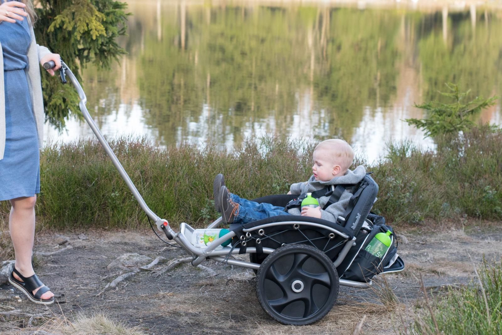 Der yippieyo crossbuggy kinderwagen und buggy im test