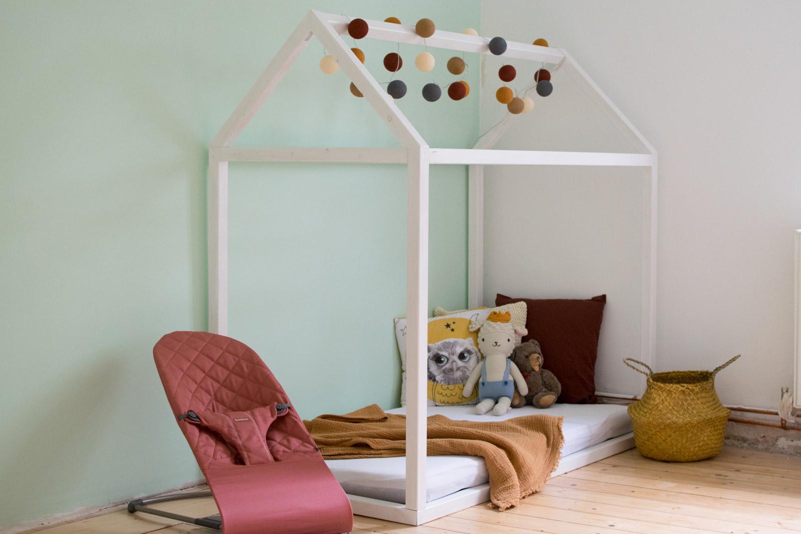 Hausbett Selbst Bauen Bauanleitung Fur Ein Kinder Floor Bed