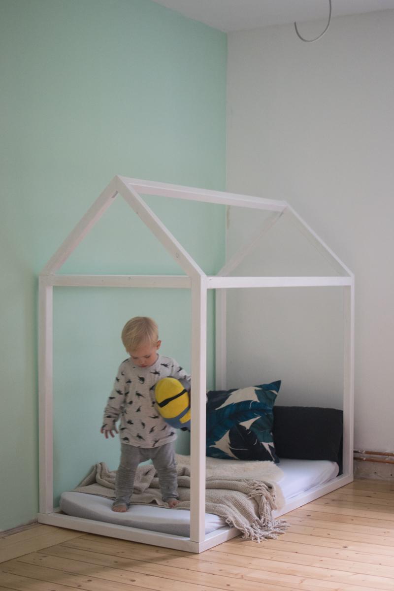 Bauanleitung Kinderbett kinderhausbett floor bed kinderbett kinds matratze kinderbett