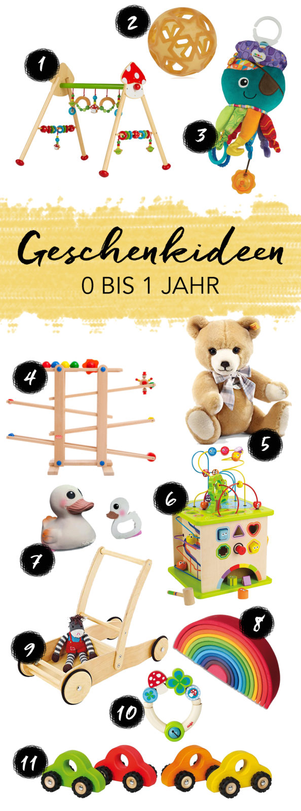 geschenkideen f r babys und kinder im alter von 0 bis 1 jahr geburtstag weihnachten ostern. Black Bedroom Furniture Sets. Home Design Ideas