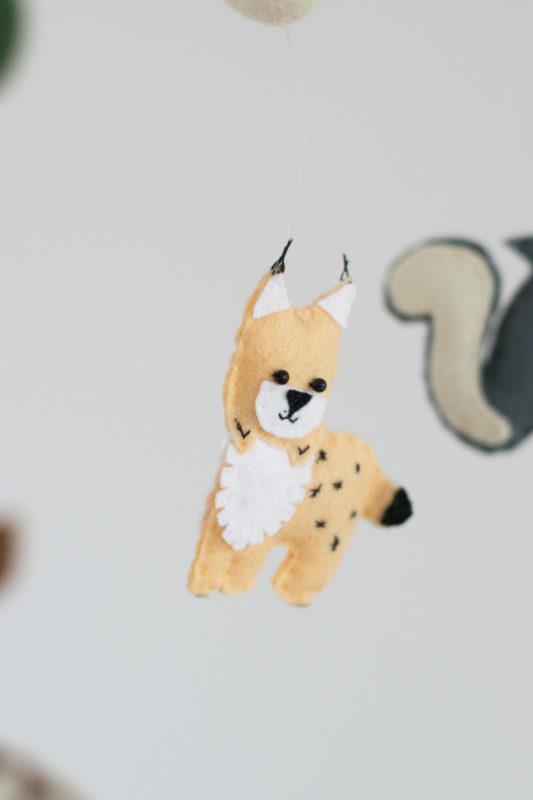 filz mobile waldtiere tiere baby filzmobile selbst machen 1 von 1 5 trendshock. Black Bedroom Furniture Sets. Home Design Ideas