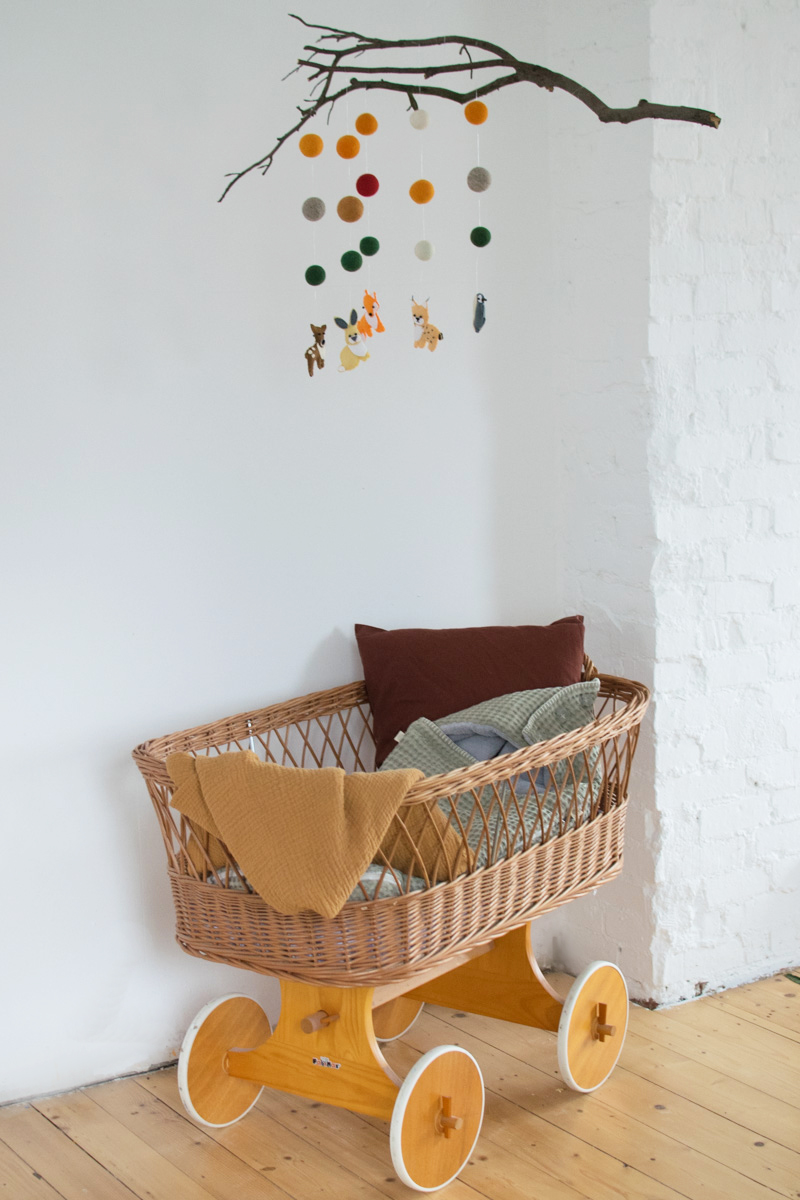 Außergewöhnlich Baby Mobile Selber Basteln Anleitung Foto Von Machen