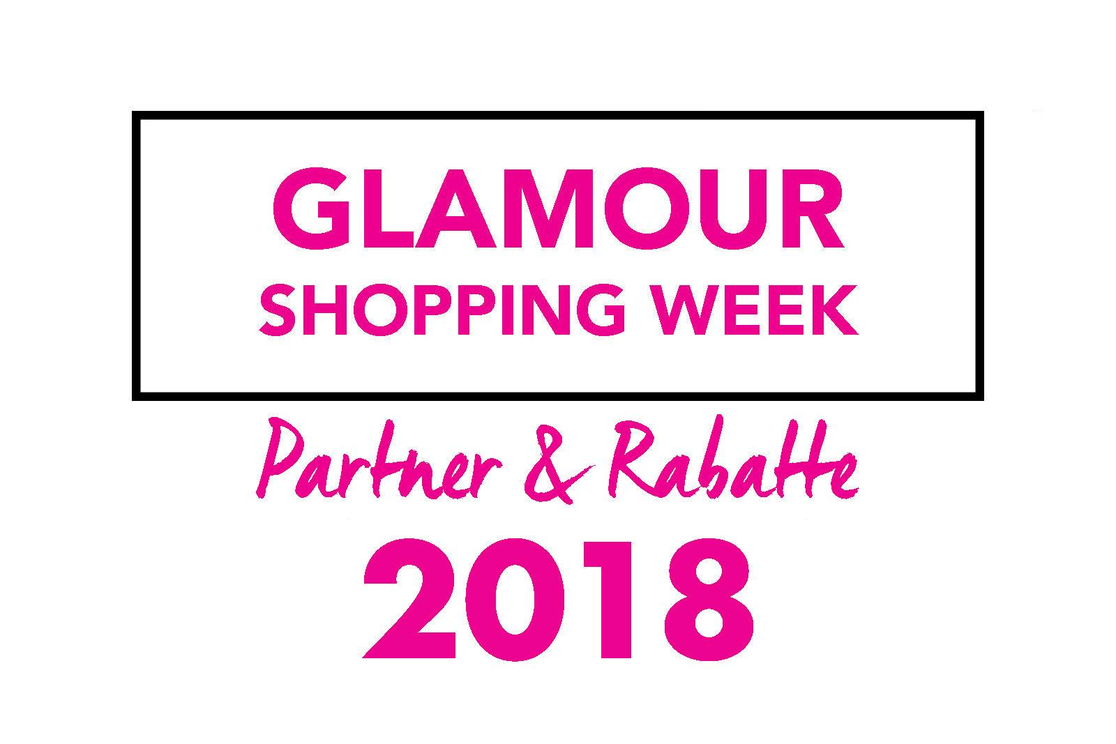 glamour shopping week 2018 alle rabatte partner im. Black Bedroom Furniture Sets. Home Design Ideas