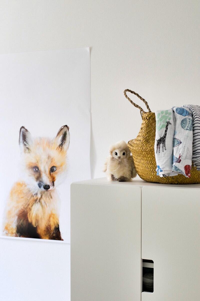 Kinderzimmer Babyzimmer Ikea Aden Anais Ideen Waldtiere Wald Wildtiere(1)
