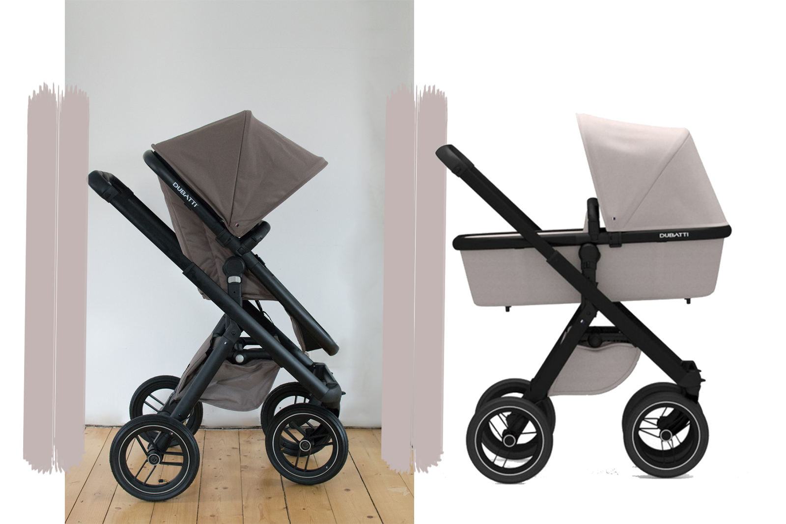 der dubatti one kombi kinderwagen im test. Black Bedroom Furniture Sets. Home Design Ideas