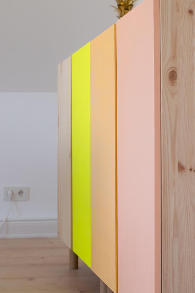 Ivar Kommode Von Ikea Im Diy Leuchtender Ikea Hack