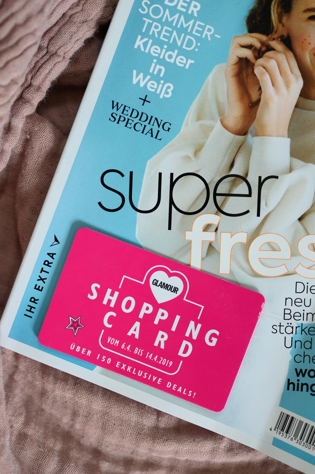 Glamour Shopping Week Code